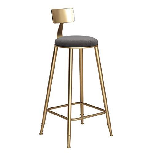 Barkruk hoogte barkruk barkruk Scandinavische stijl metaal barstool creatieve ijzeren kunst keuken eetkamer gouden bar stoel kruk voor thuis en op kantoor met dosering