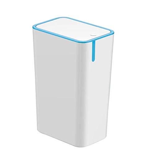 Poubelle- Type de presse de 8,5 L avec poubelle à couvercle, poubelle de type étroit, poubelle, ménage, cuisine, salon, salon