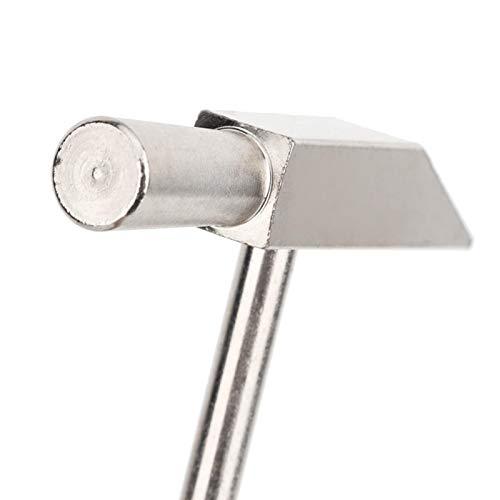 Martillo de joyería, reloj de metal ligero, martillo de reparación, manualidades hechas a mano, para reparar relojes(Type A)