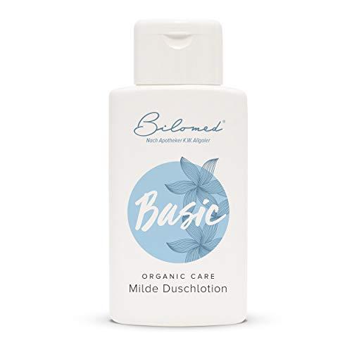 Bilomed Basic: Mildes Duschgel und Shampoo ohne Silikone - Seifenfreie Waschlotion für trockene & empfindliche Haut - Bekannt aus der Apotheke - 200ml