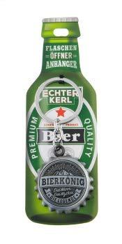 History Heraldry Echter Kerl Bierkönig Flaschenöffner und Schlüsselanhänger mit Name und Spruch