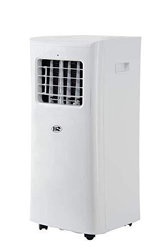 Klimagerät Mobil, 4 in 1 Klimaanlage 9000 BTU Luftkühler Luftreiniger Luftentfeuchter Ventilator Natürliche Abkühlung R290 Energieklasse A