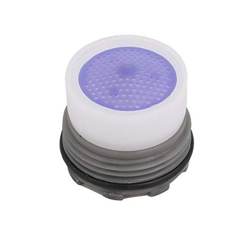 LNIEGE - Grifo de agua con aireador M16, rosca de grifo, aireador de filtro, inserto laminado
