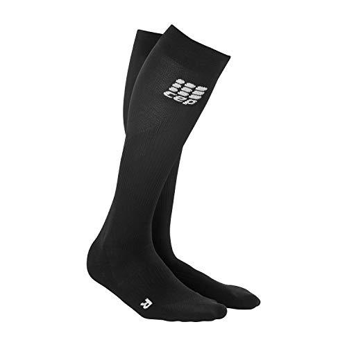 CEP Damen Strumpf Progressive+ Run Socks 2.0, Black/Black, Gr.III