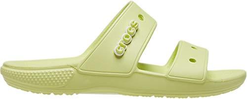 Crocs Classic Sandal, Unisex-Adulto, 36/37 EU, Verde (Lime Zest)