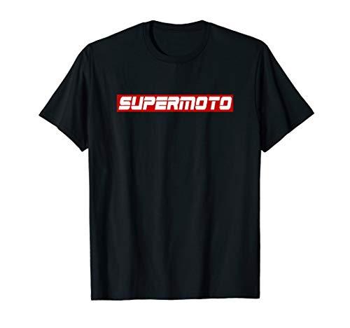 Biker Spruch, Ride, Motorrad Fahrer, Cooles SM Supermoto T-Shirt