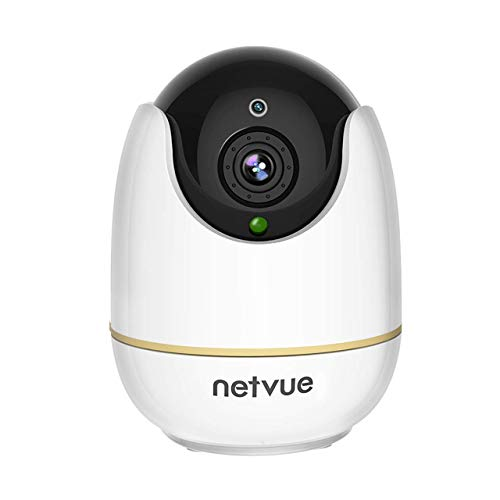 Wireless IP Camera, Works with Alexa Echo Show, Netvue 720P HD Home...
