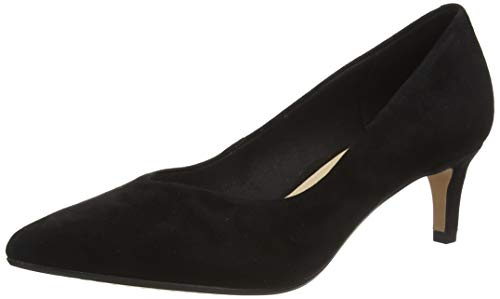 Clarks Laina55 Court, Zapatos de Tacón Mujer, Negro (Black SDE Black SDE), 36 EU