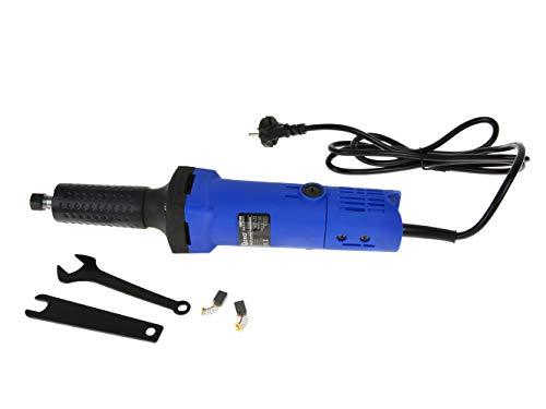 Amoladora Recta Eléctrica, Amoladora Axial - 700W, 26 000 RPM, Pinza de Sujeción 6mm
