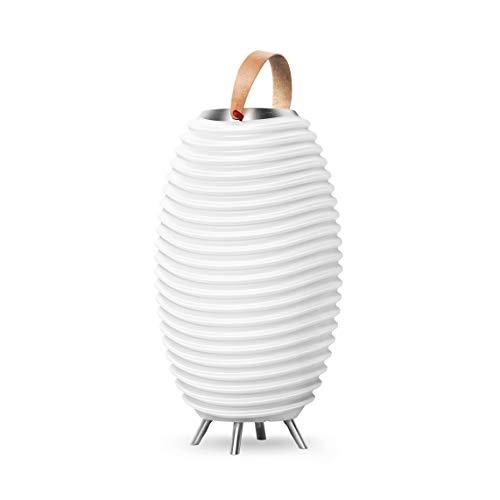 Kooduu Synergy 50 Pro - 3-in-1 Lampada Led Portatile, Altoparlante Bluetooth, Secchiello Ghiaccio Luminoso - Lettore Musicale Senza Fili, Combinabile con altri Dispositivi - Batteria Ricaricabile