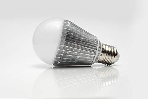 Light & Life - Bombilla con la mejor tecnología LED de luz cálida - 3000K - menor consumo y mayor duración – Bombillas fabricadas sin obsolescencia programada - máxima vida útil - E27 9W