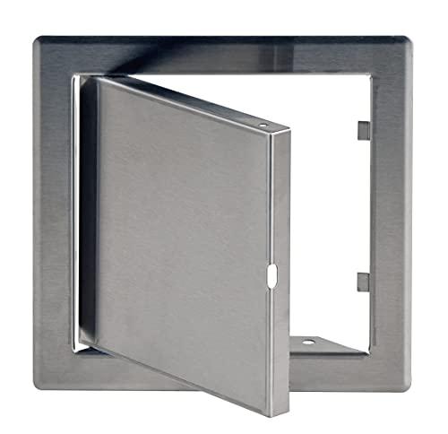 15x15 cm Edelstahl Wartungstür Revisionsklappe Wartungs- Inspektions- Tür Revisionstür 150x150mm