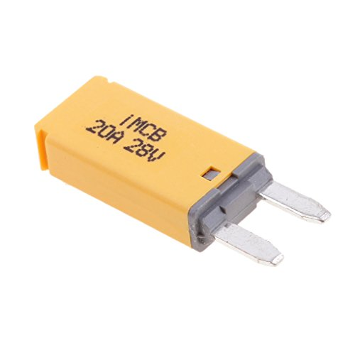 MagiDeal Car ATM Mini Blade Fuse Kit Circuit Breaker Manual Reset - 20A