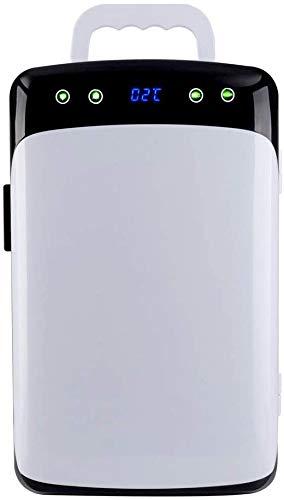 RENXR Mini Refrigerador 12L Bebidas De Cerveza Nevera Pequeña Portátil con Función De Enfriamiento Y Calentamiento para Dormitorio, Cuidado De La Piel, Oficina, Dormitorio