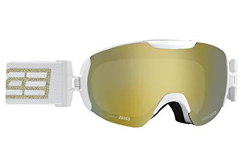 Salice 604DARWF Skibrille SR Nero-ORO Unisex Erwachsene Einheitsgröße