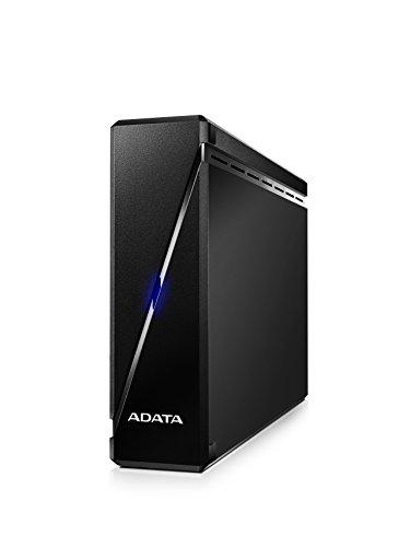 ADATA AHM900-3TU3-CEUBK 3TB Robust Anti-Shock USB 3.0 Externe Festplatte für Multimedia Sprüche konzipiert schwarz