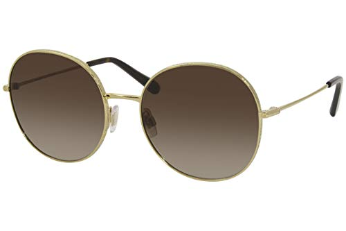 Dolce & Gabbana Gafas de Sol SLIM DG 2243 GOLD/BROWN SHADED 56/18/140 mujer
