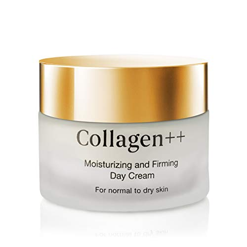 Collagen ++Anti-Aging Moisturizing and Firming Day Cream, Hydrating Collagen Cream, Anti Wrinkle Face & Neck with Collagen Peptide