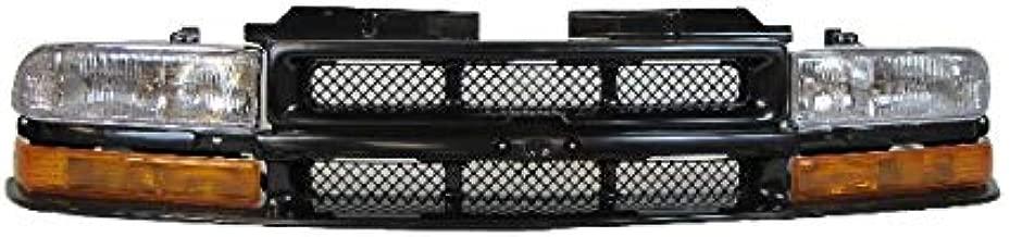 Fits 1998-2004 Chevy S10 Pickup / 2000-2005 Blazer Ls Grille Headlight Park Signal Light 5 Pcs GM1200507 GM2521162 GM2520162 GM2503172 GM2502172