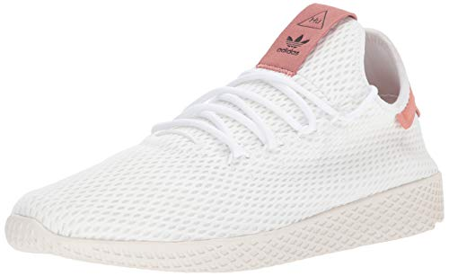 adidas Mens Pharrell Williams X Hu Lace Up Sneakers Shoes Casual - White - Size 5.5 D