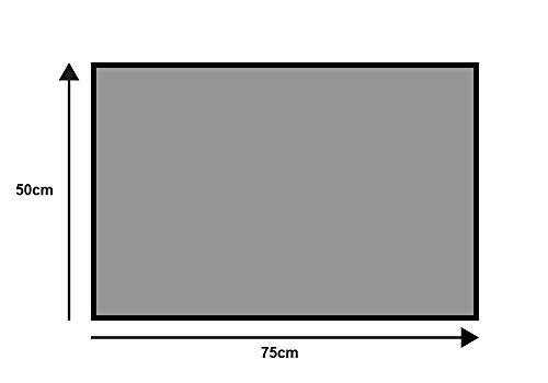 wash+dry Design Fußmatte, 100% Polyamid, Mehrfarbig, 50x75 cm