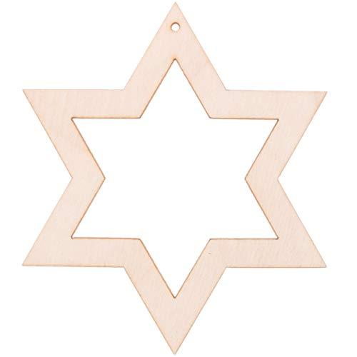 10 x 10 cm ouvert étoile de Noël décoration de Noël décoration de Noël Lave-vaisselle Sapin de Noël Bijoux