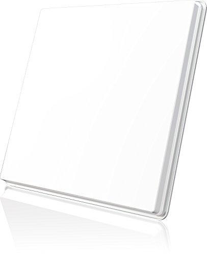 Selfsat H50D - Parabólica con un LNB, blanca