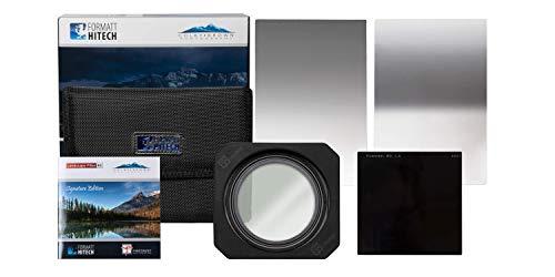 Formatt Hitech Colby Brown Signature Edition landschapsfotografie kit - landschaps-, reis- of outdoorfotografie kit - 3 filters fotografie kit met adapterringen, filterzakken en fotoschrift
