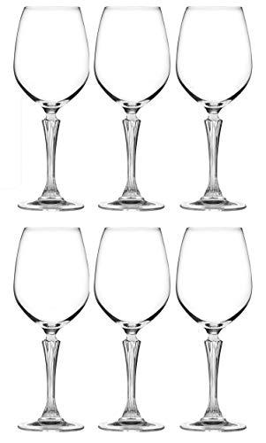 RCR Cristalleria Italiana Aria Collection - Juego de copas de vino (6 unidades)