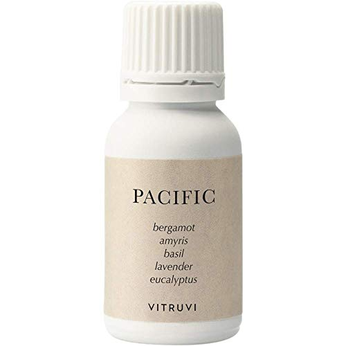 Vitruvi Pacific, Balanced Essential Oil Blend, 100% Pure Amyris, Bergamot, Eucalyptus, Lavender and Basil Oil (0.5 fl.oz)
