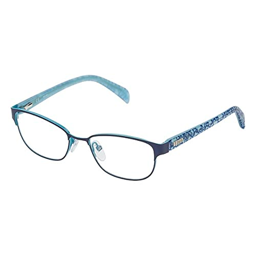 TOUS S0350803 Marcos para Gafas recetadas, Azul, 49 mm Unisex niños