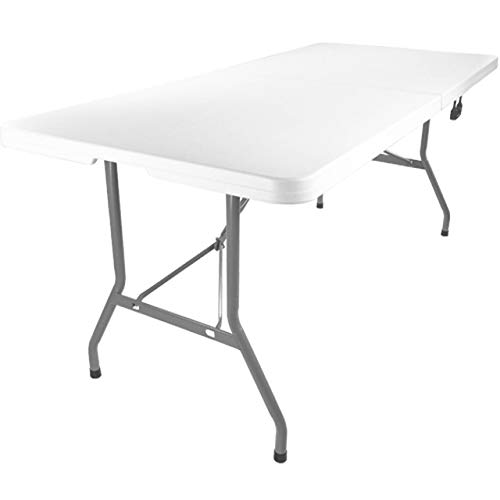 New Home Adjustable Utility Folding Table 5ft Party Multi Purpose