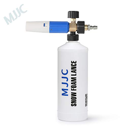 MJJC Foam Cannon S Comes with New 1/4 Quick Connector
