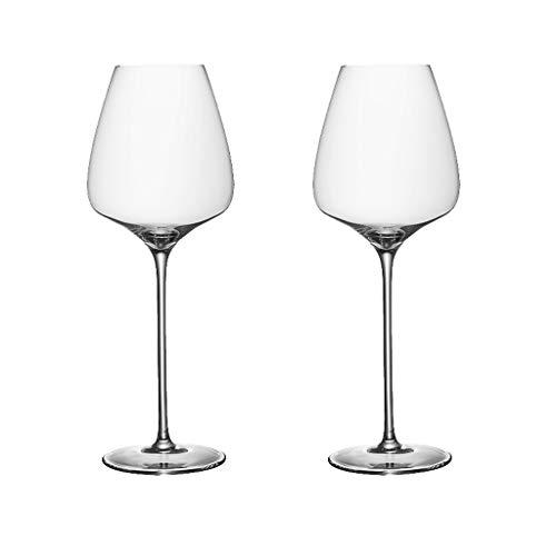 ZHIHUI Copas de Vino Tinto Inquebrantable Clear Tootware Shatter A Prueba de Vinos Conjunto de 2 Copa de Vino (Color : ClearB)