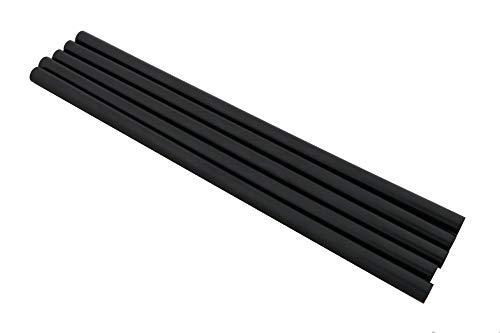 5 barras de reparación para base de esquí y snowboard, color negro, 8 mm