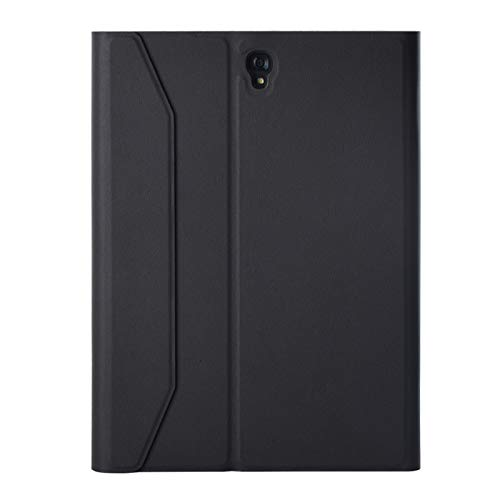 Xyamzhnn Funda telefónica Duradera Bluetooth Keyboard Funda Desmontable de plástico con Soporte, para Galaxy Tab S3 9.7 T820 / T825 (Color : Black)