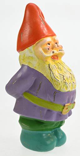 Bell Arte Shabby Chic Gartenzwerg lila Wams, Einer von Sieben