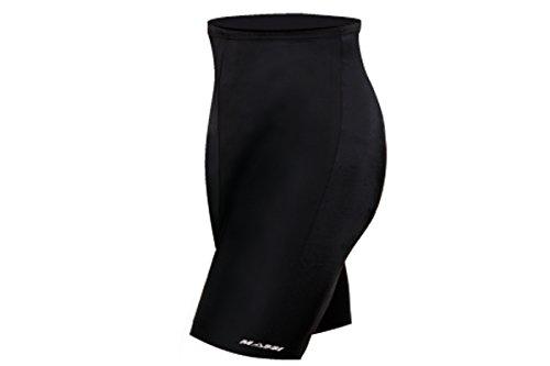 Massi Sport - Culotte sin Tirantes para Mujer, Color Negro, Talla XS