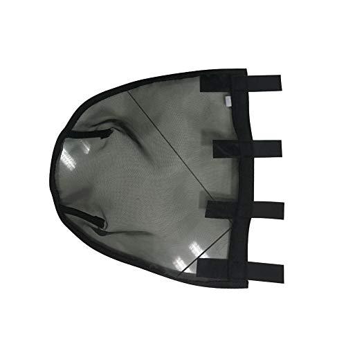 Somedays Nasenmaske für Pferde Nase Nasenschutz Anti-Moskito Atmungsaktive Fliegenabdeckung für Nasenschutz Nasenabdeckung