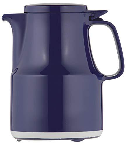 Helios Thermoboy Kunststoff-Isolierkanne mit Klappdeckel 0,3 l blau spülmaschinenfest