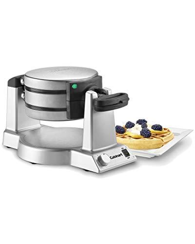 Cuisinart WAF-F20 Double Belgian Maker Waffle Iron, Silver [並行輸入品]