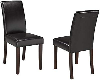 Amazon Com Coaster Ramona Side Chair Set Of 2 Chairs