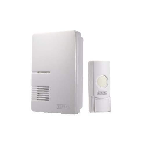Campanello Senza Fili GBC Wireless Portata 200 Metri con sistema di trasmissione sicuro per evitare interferenze