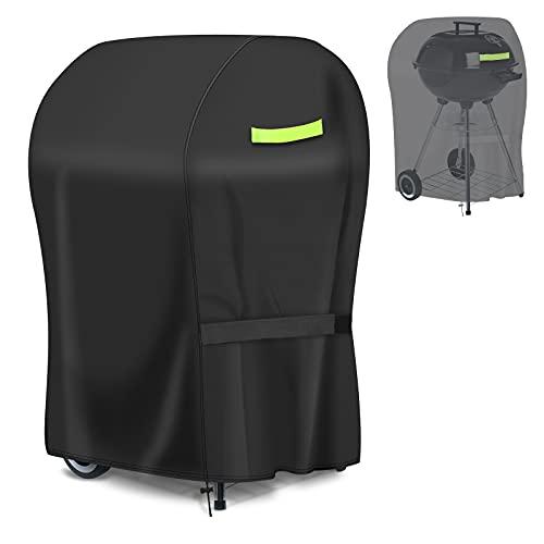 GEMITTO Copertura Barbecue Impermeabile 420D Oxford, Telo Copri Barbecue, Impermeabile/Antivento/Resistente ai Raggi UV per griglia 77 * 67 * 110