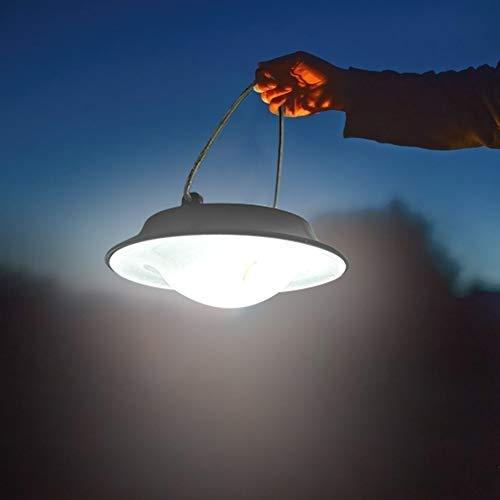 Starnearby Solar camping tent lichtbesturing 7 leds zonnelicht waterdicht zonnelicht buiten decoratief licht draagbaar licht