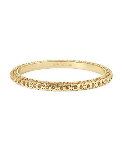 Kendra Scott Maggie Bangle Bracelet in Gold Filigree