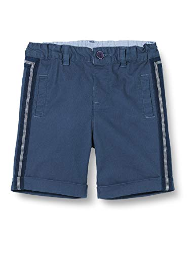 Chicco Jungen Pantaloncini Corti Bimbo Shorts, Blau (Blu 085), 92 (Herstellergröße: 092)