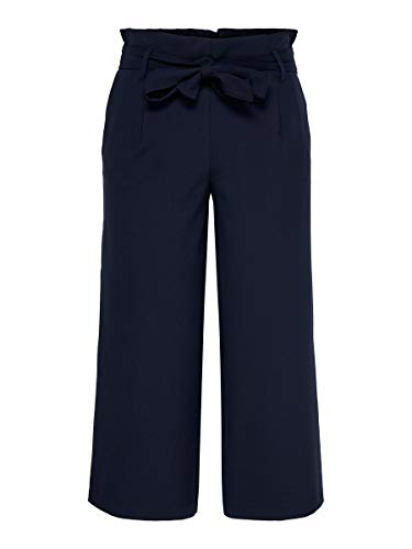 Only Onlnicole Elastic Paperback Culotte Pnt Pantalones, Azul (Night Sky Night Sky), 38 (Talla del Fabricante: 36) para Mujer