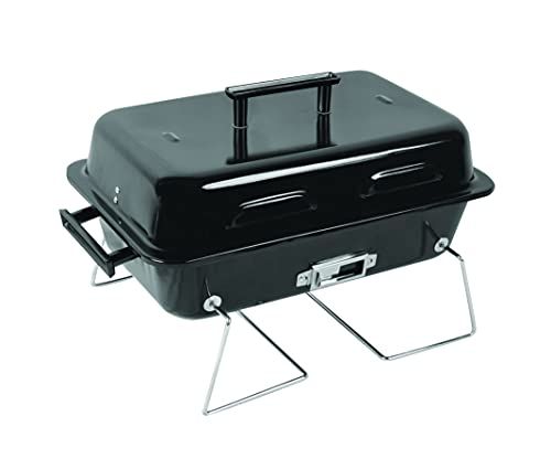 Landmann Portable Folding Suitcase BBQ   Charcoal Barbecue Grill   41x26cm cooking grill