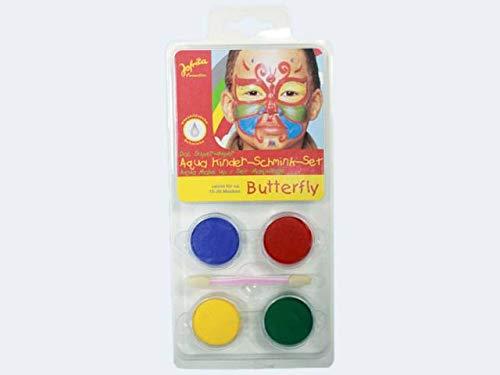 Schminkset Schmetterling Schminke Set Schmetterlingsschminkset Makeup Butterfly Make Up Aqua für...